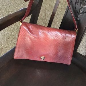 Beautiful hobo textured leather crossbody bag